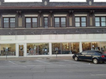 Lucky Dog Books exterior at 911 W. Jefferson in North Oak Cliff, April 21, 2015.